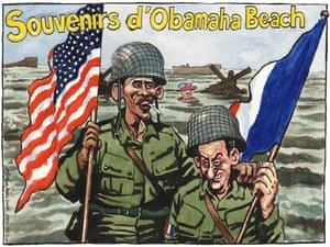 29.05.09: Steve Bell on the Queen's omission from the D-Day anniversary