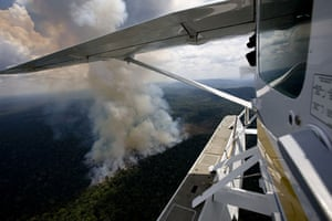 Amazon deforestation: Forest Fires in the Amazon