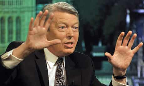 Alan Johnson on BBC1's The Andrew Marr Show