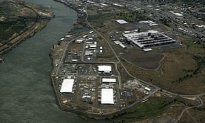 The Google plant in The Dalles in 2006