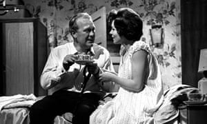 Joss Ackland and Pauline Yates in Armchair Theatre