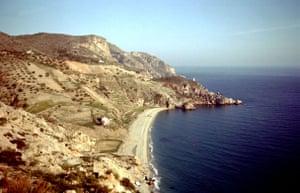 Spanish coastlines: 1959: Torremelinos, Costa Del Sol pre development