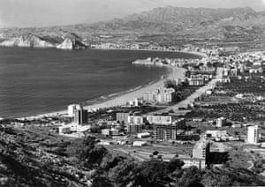 Spanish coastlines: 1960, Benidorm, Spain