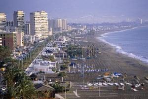 Spanish coastlines: 2007: Torremolinos, Malaga, Spain