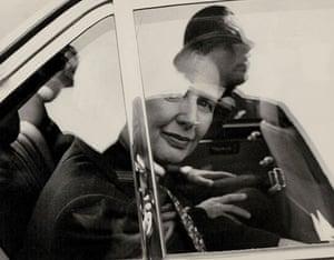 Margaret Thatcher: 1984: Margaret Thatcher returns to the scene of the Brighton Bomb