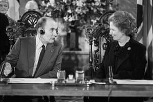 Margaret Thatcher: Politics - Channel Tunnel Agreement - Canterbury Cathedral - 1986