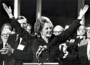 Margaret Thatcher: 1983: Margaret Thatcher at the party conference
