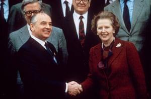 Margaret Thatcher: 1988: Margaret Thatcher and Mikhail Gorbachev
