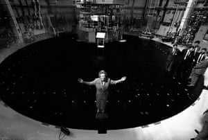 Margaret Thatcher: 1990: Margaret Thatcher opens Torness Nuclear power station