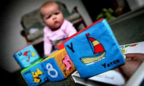 Morrisons baby blocks