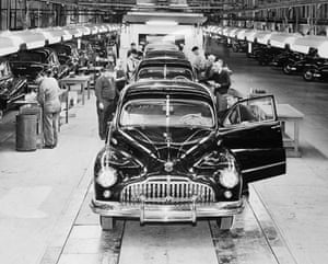 General motors: Buick Assembly Line