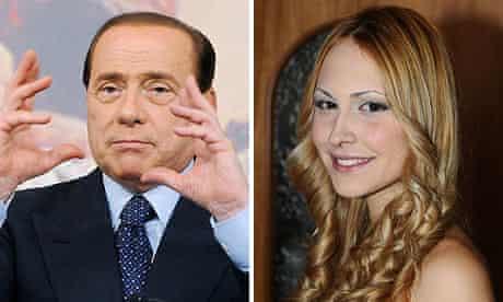 Silvio Berlusconi and Noemi Letizia