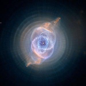 Hubble telescope : Cat's Eye Nebula
