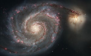 Hubble telescope: Majestic spiral galaxy M51