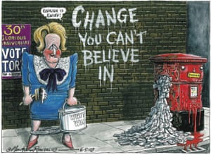 06.06.09: Martin Rowson on the Tories and Labour's Royal Mail plans