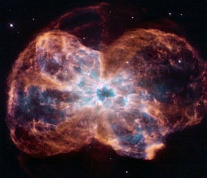 Hubble telescope: A star like  Sun, NGC 2440