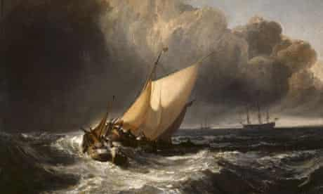 Dutch Boats in a Gale by JMW Turner