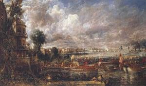 Turner and the masters : John Constable, Opening of Waterloo Bridge
