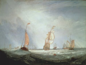 Turner and the masters : JMW Turner, Helvoetsluys
