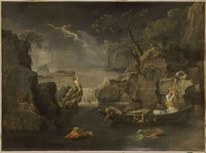 Turner and the masters : Winter - The Deluge by Nicolas Poussin