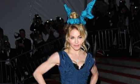 Madonna at the Metropolitan Ball