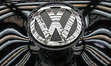 The Volkswagen Company logo