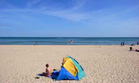 2009 Blue Flag Beaches : Poole beach Dorset