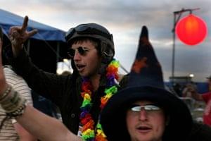 Festival fashion: Men at Glastonbury