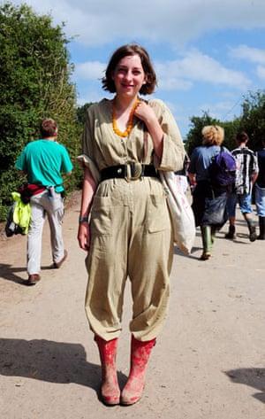 Festival fashion: Glastonbury Georgie Sleap