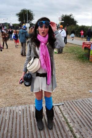 Festival fashion: Elena Dobson at Glastonbury