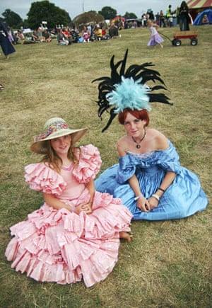 Festival fashion: Big Chill festivalgoers