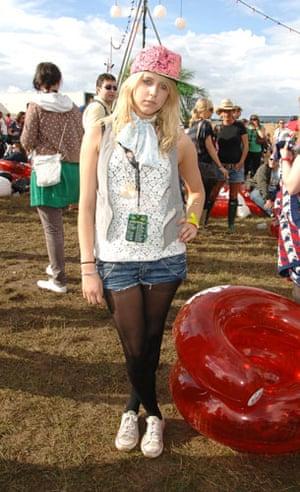 Festival fashion: Peaches at V festival