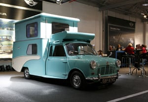 50 Years of the Mini: The camper version of the original Mini, made in the sixtiers