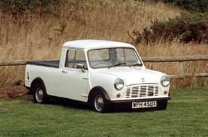 50 Years of the Mini: One of the final models of the Mini Pick Up van
