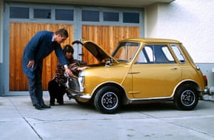 50 Years of the Mini: A custom Made Shortened Mini seen in 1972