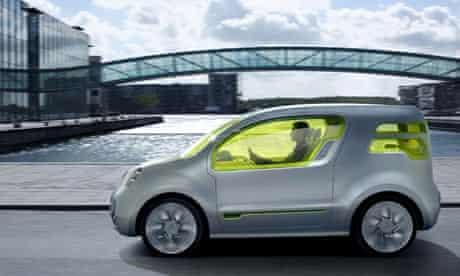 Renault Kangoo Be-Bop Z.E. electric car