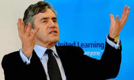 Gordon Brown at Sheffield Springs Academy