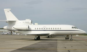 The Royal Bank of Scotland's corporate jet, a Dassault Falcon 900 EX, has been sold