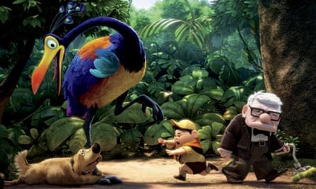 Characters from the Disney/Pixar film 'Up'