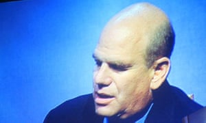 David Simon, creator of The Wire, speaking at the Hay festival on 30 May 2009. Photograph: Paul Owen