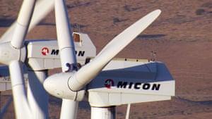 Home: Yann Arthus Bertrand and Luc Besson movie: Windmill Tehachapi, California
