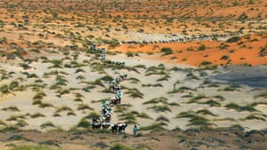 Home: Yann Arthus Bertrand and Luc Besson: Caravan, Tichit, Mauritania