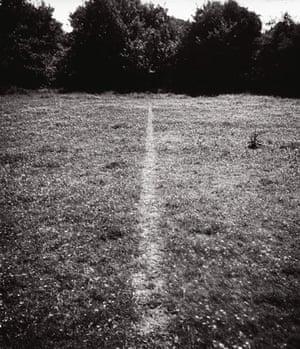 Richard Long: Richard Long photograph for his exhibition at the Tate Britain