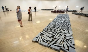 Richard Long exhibition at the Tate Britain