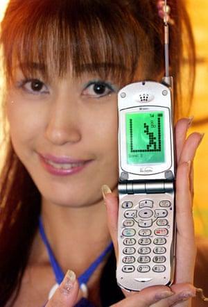 Tetris 25th anniversary: Tetris on mobile phone