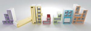 Tetris 25th anniversary: Tetris furniture by Brazilian designer Diego Silvério