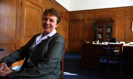 Kate Barker, member of the monetary policy committee, at the Bank of England