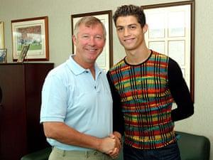 Ronaldo: Cristiano Ronaldo Signs For Manchester United