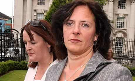 Suzanne Breen arriving in court