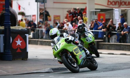 TTXGP practice sessions on the Isle of Wight